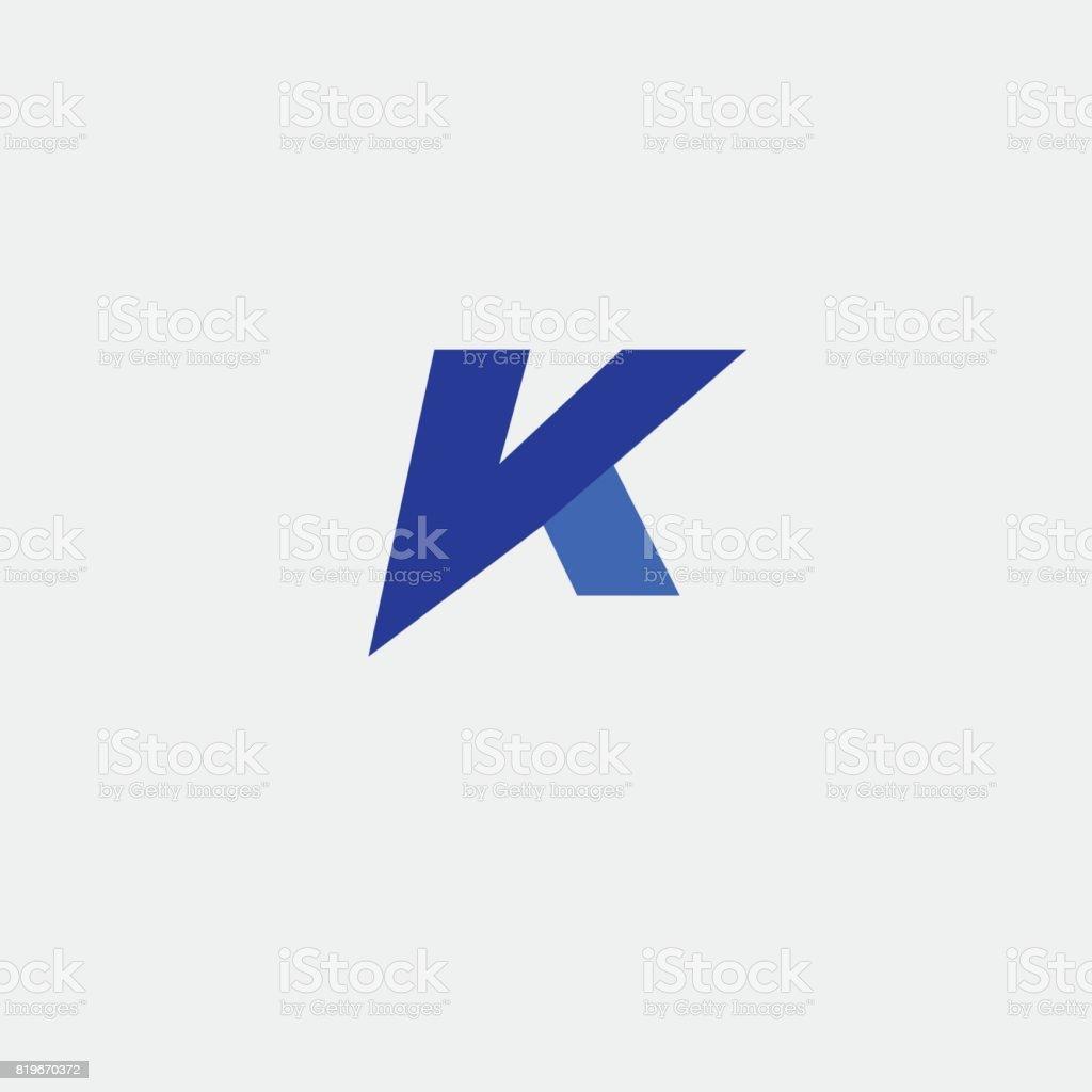 Letter Vk Element Design Stock Illustration - Download Image