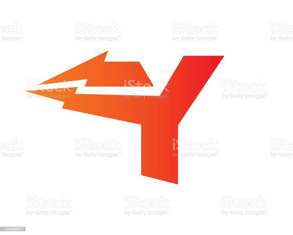 Letter y symbol design template stock vector art more images of letter y symbol design template royalty free letter y symbol design template stock vector art maxwellsz