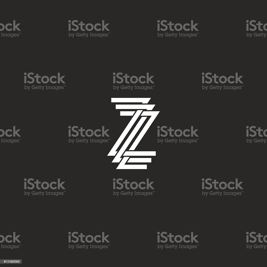 Zzz text symbol choice image symbol and sign ideas letter z logo monogram mockup zzz crossing symbol together stock letter z logo monogram mockup zzz buycottarizona Choice Image