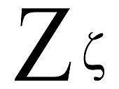 Letter Zeta