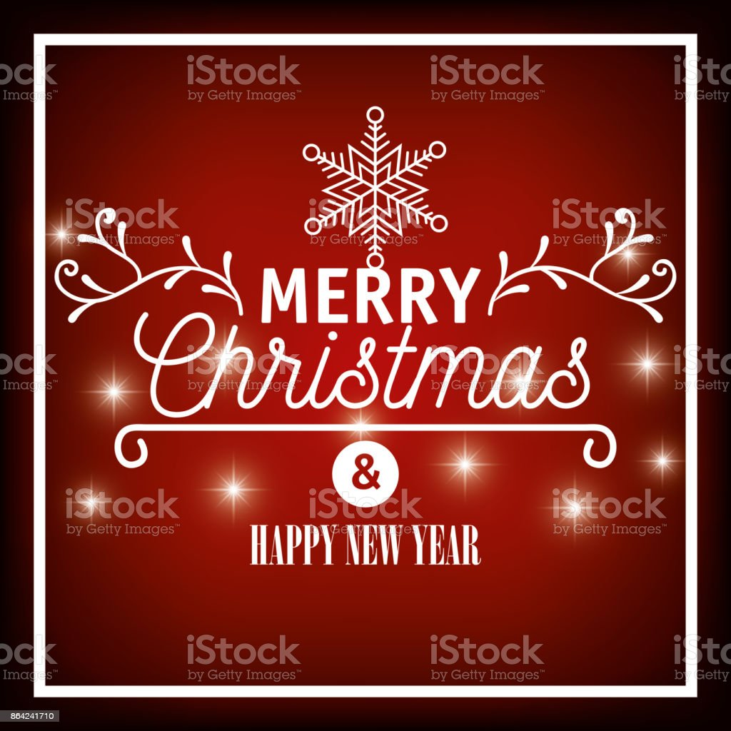 lettering merry christmas and happy new year graphic royalty-free lettering merry christmas and happy new year graphic stock vector art & more images of art