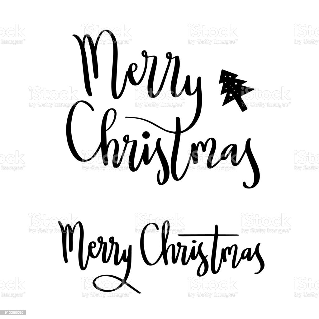 lettering words merry christmas greeting royalty free lettering words merry christmas greeting stock vector