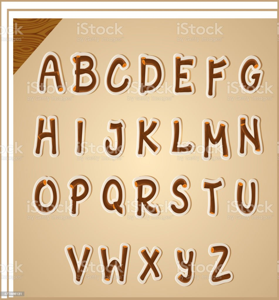 Letters of the alphabet royalty-free letters of the alphabet stock vector art & more images of alphabet