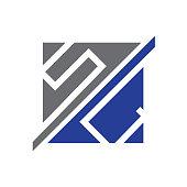 letters SC symbol
