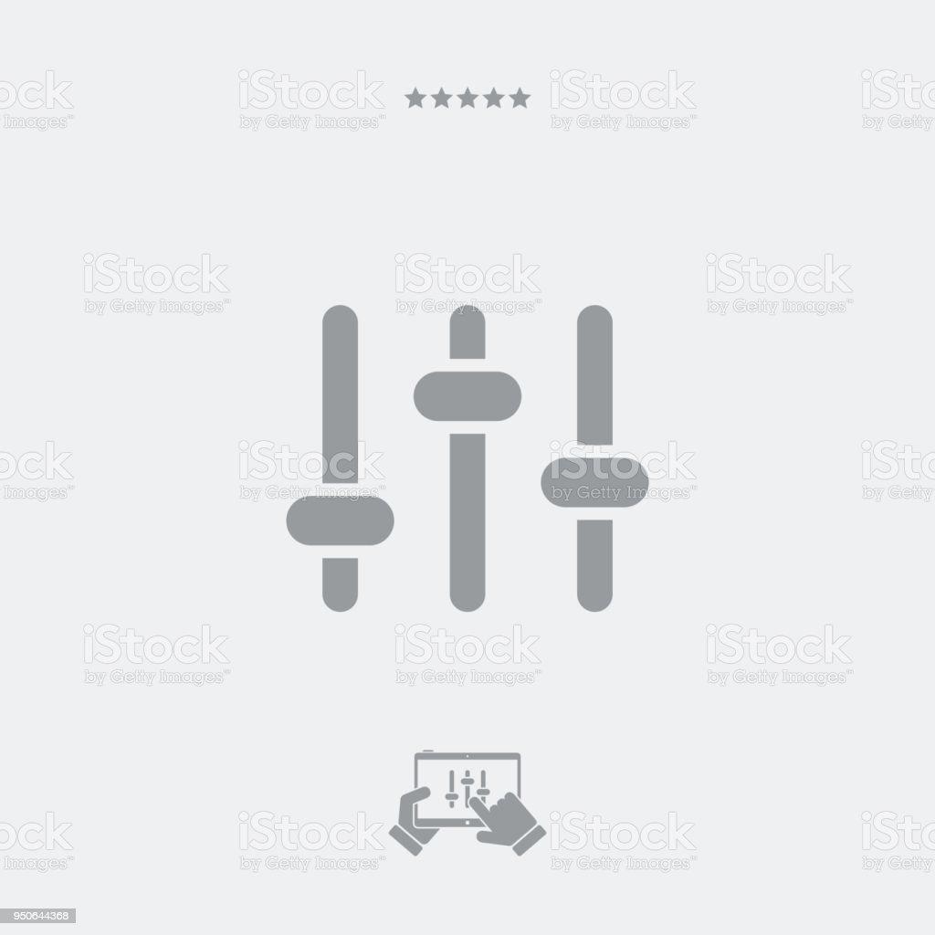 Level adjustment tool vector art illustration