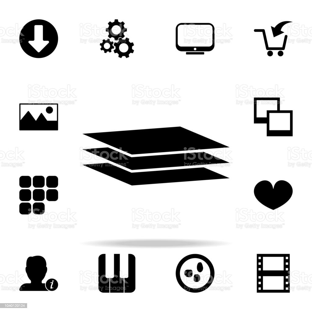level sheets icon web icons universal set for web and mobile royalty free level