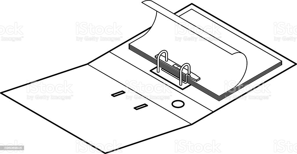 Lever arch file royalty-free lever arch file stock vector art & more images of archives