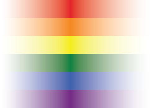 Lgbt gay pride rainbow flag design