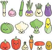 Légumes heureux