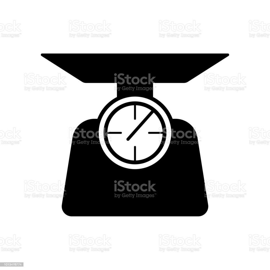 Libra Icon Vector Icon Simple Element Illustration Libra Symbol