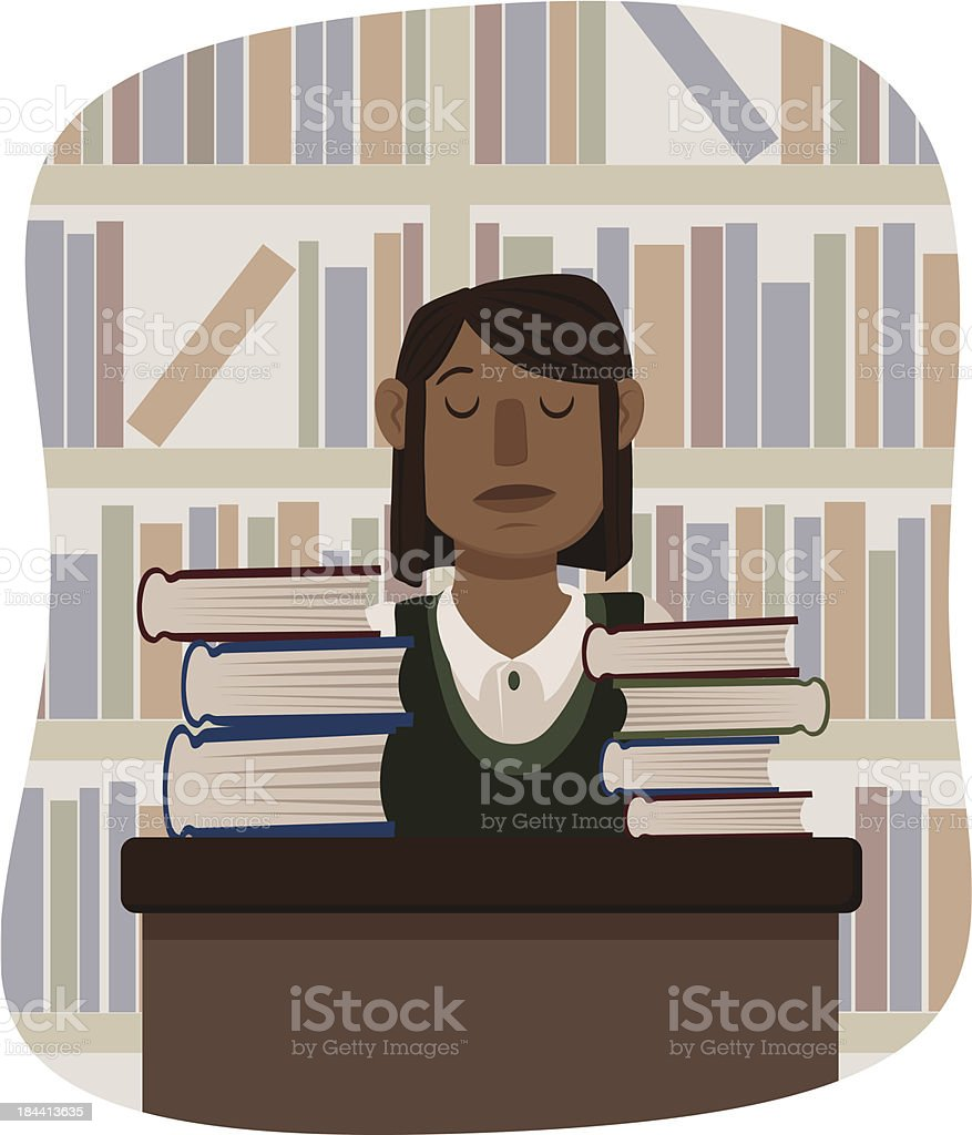 Librarian royalty-free librarian stock vector art & more images of 20-29 years