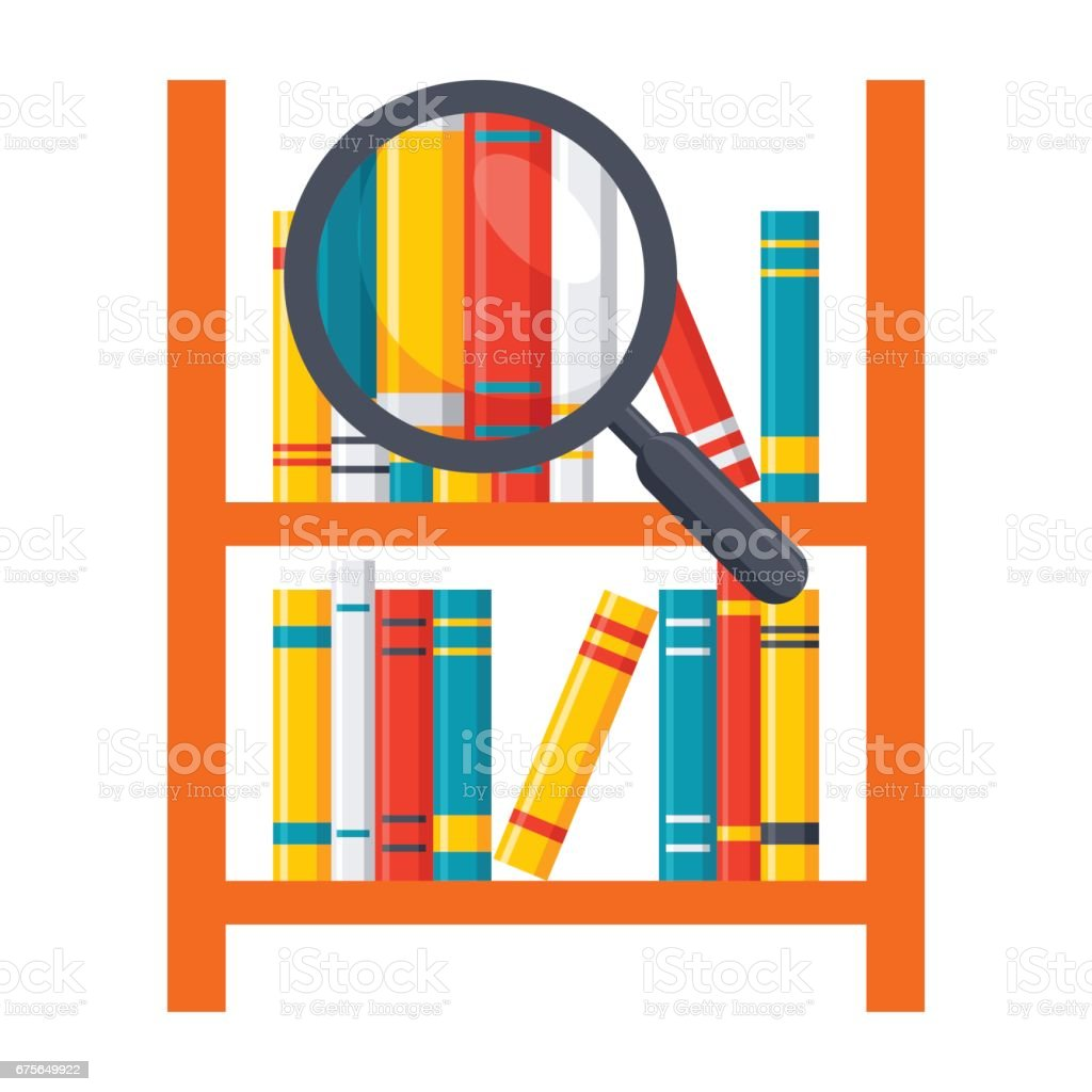 Library Science Icon royalty-free library science icon stock vector art & more images of book