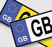 GB Licence Plates