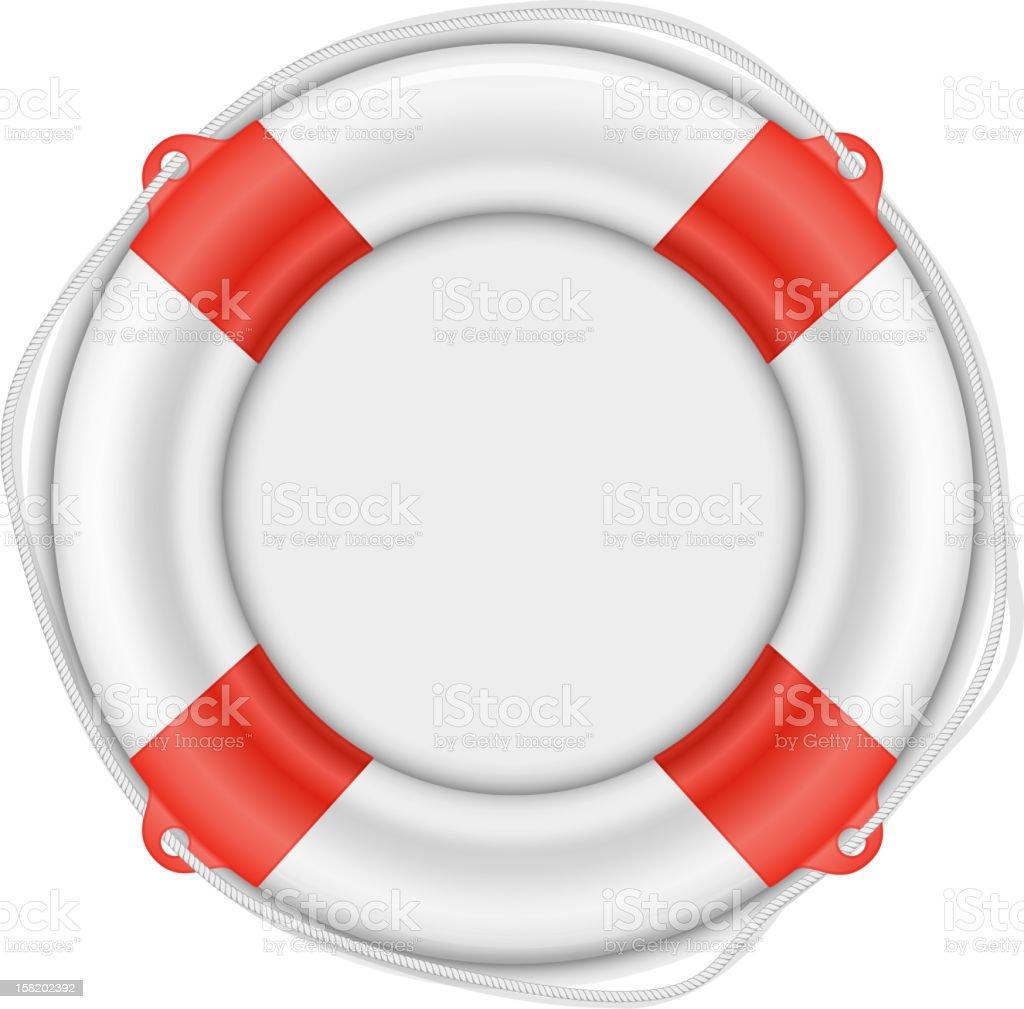 Life Buoy isolated on white royalty-free life buoy isolated on white stock vector art & more images of buoy