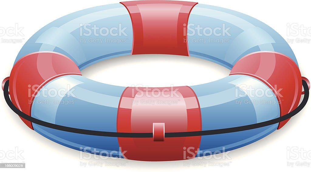 Life buoy royalty-free stock vector art