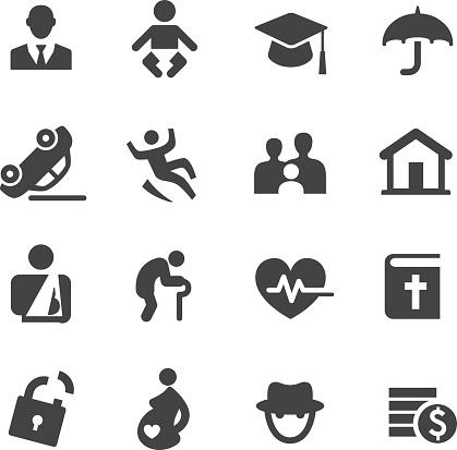 Life Insurance Icons - Acme Series