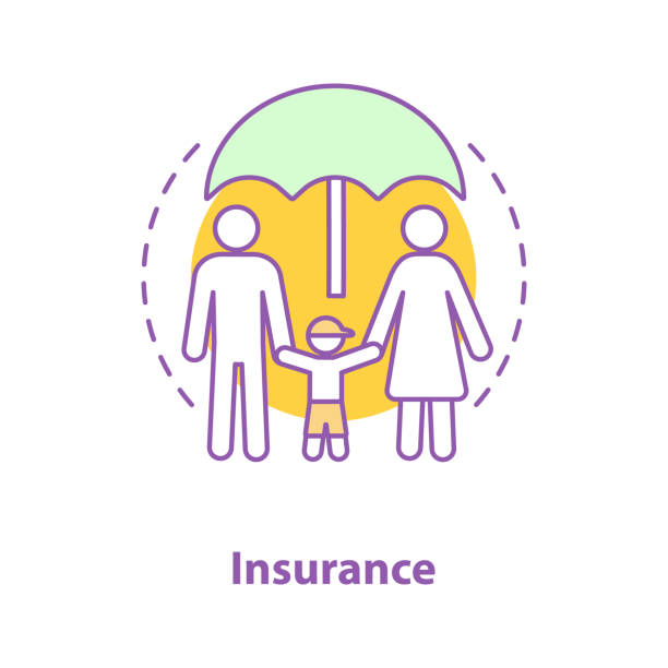 Royalty Free Life Insurance Policy Clip Art, Vector Images ...