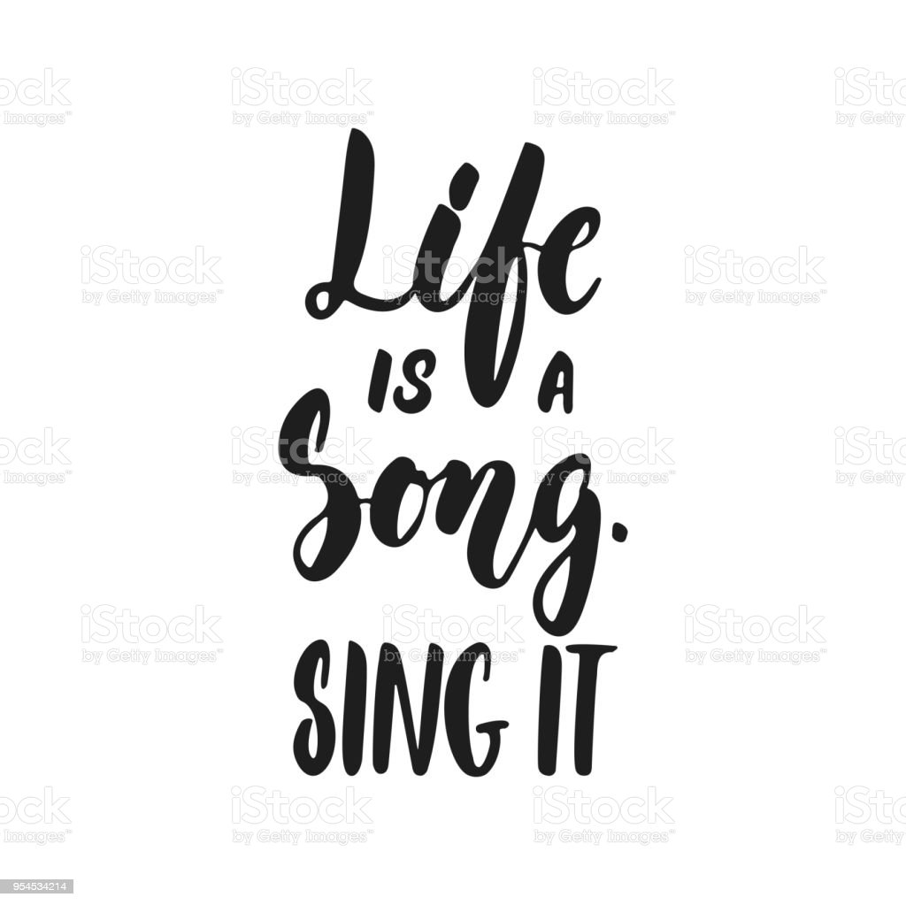 Quotes From Singers About Life: Royalty Free Singing Quotes Clip Art, Vector Images