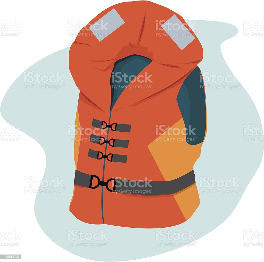 Life Jacket royalty-free life jacket stock vector art & more images of beach