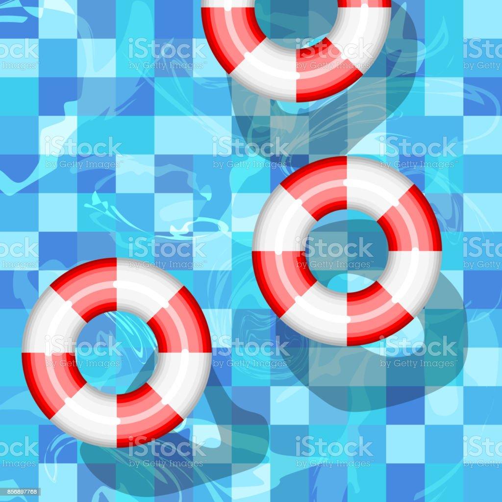 Lifebuoy vector icon vector art illustration
