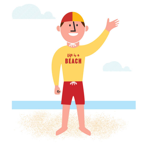 Best Lifeguard Illustrations, Royalty-Free Vector Graphics ...