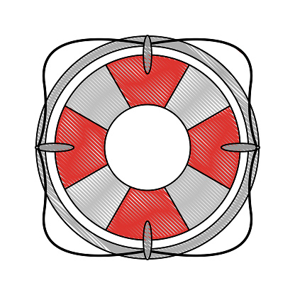 Lifesaver flaot symbol