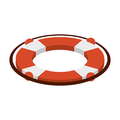 Lifesaver float symbol