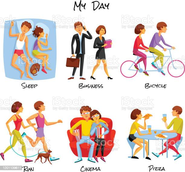 Lifestyle cartoon people set vector id1201139611?b=1&k=6&m=1201139611&s=612x612&h=xydu4pf4mzaflsm2wdq m 3ay2e6ehzevly6srr5imu=