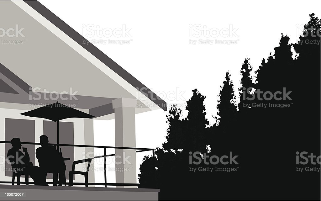 Lifestyle Vector Silhouette royalty-free stock vector art