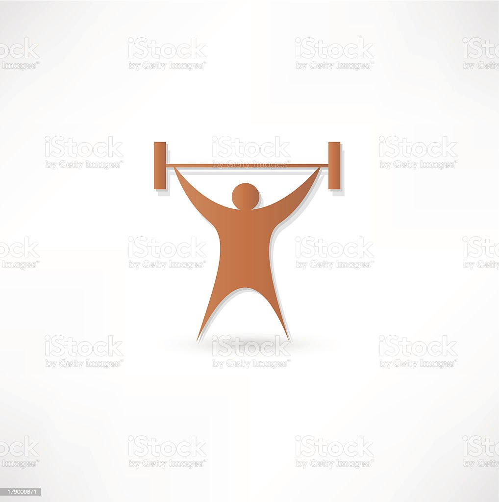 Lifting Weights royalty-free lifting weights stock vector art & more images of barbell