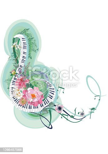 istock Light and relax music. 1266457566