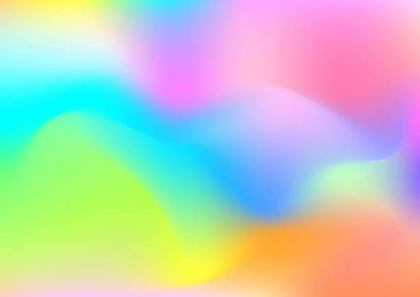 hellen hintergrund der farbigen flüssigkeit illustration. - avantgarde stock-grafiken, -clipart, -cartoons und -symbole