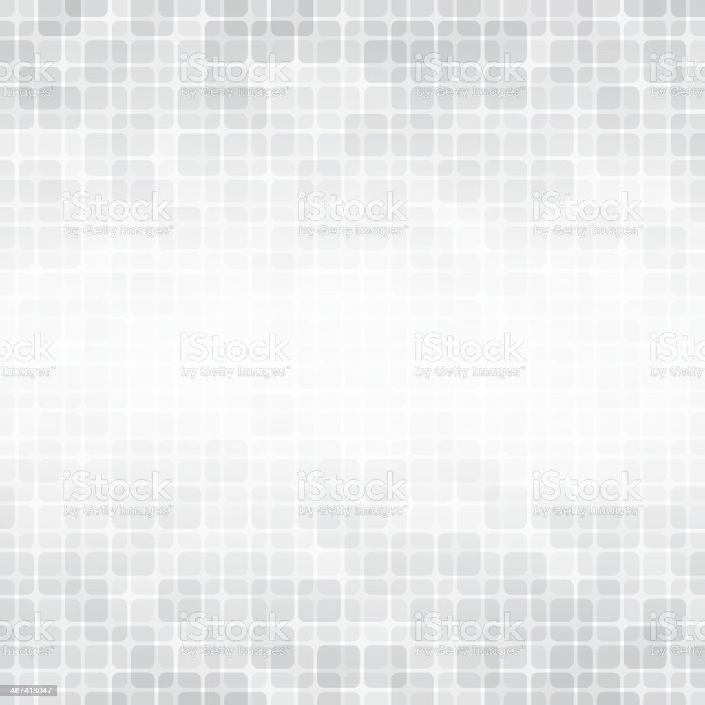 Light background with soft gray squares vector art illustration