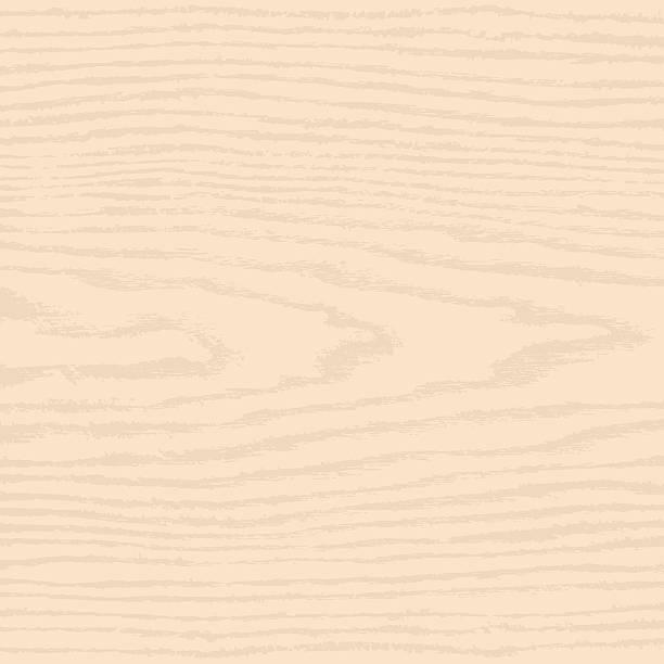Hellbeige Holz Textur mit natürlichen Muster Hintergrund swatch – Vektorgrafik