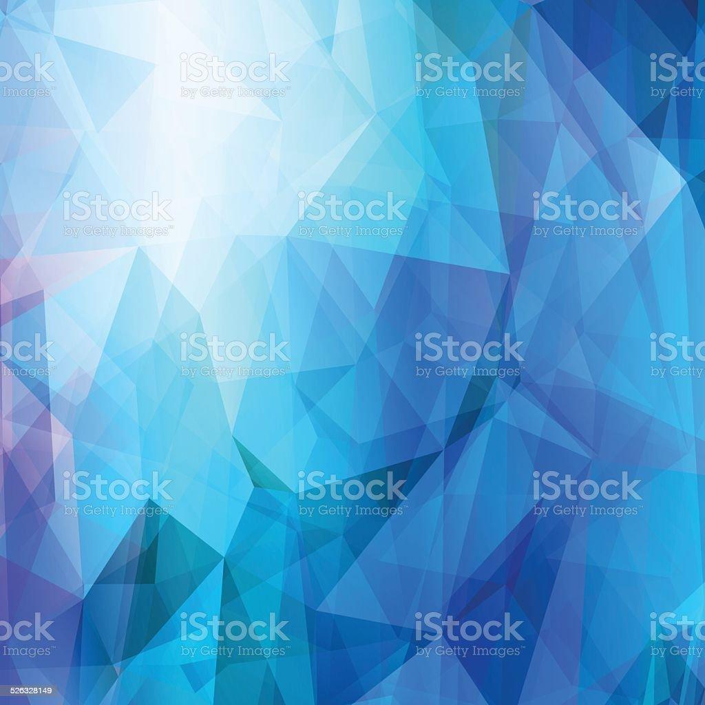 Sfondo Geometrico Astratto Blu Chiaro Immagini Vettoriali Stock E