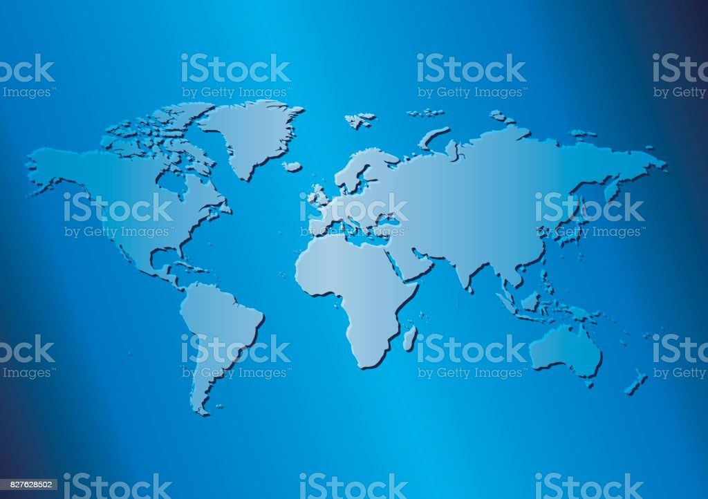 Light blue background with map of the world vector travel template light blue background with map of the world vector travel template royalty free light gumiabroncs Gallery