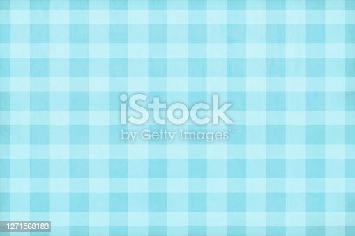 istock Light blue coloured soft checkered vector backgrounds 1271568183