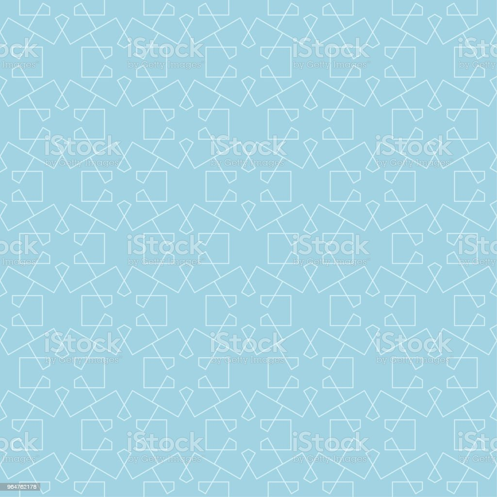 Light blue geometric ornament. Seamless pattern royalty-free light blue geometric ornament seamless pattern stock vector art & more images of abstract