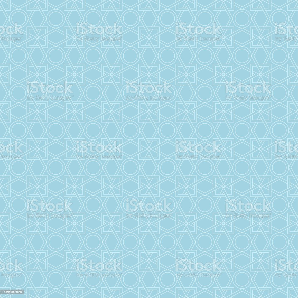 Light blue geometric seamless pattern - Royalty-free Abstract stock vector