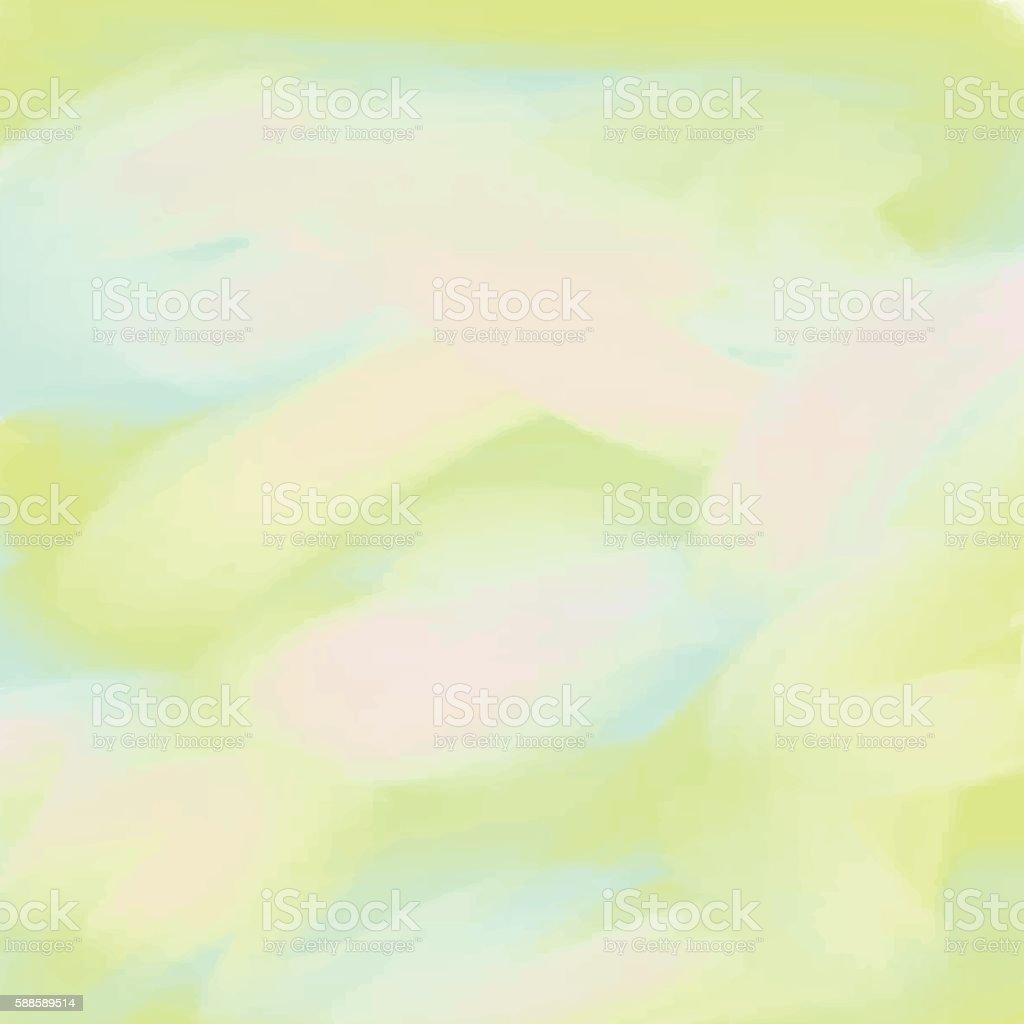 Light blue green love pastel background in vintage summer Light pastel green paint