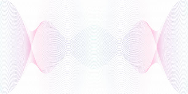 Light blue, purple symmetric guilloche. Watermark line art pattern. Crisscross colored curves. Ripple subtle lines. Vector abstract background. Backdrop design for money, banknote, cheque, certificate. EPS10 illustration Light blue, purple symmetric guilloche. Watermark line art pattern. Crisscross colored curves. Ripple subtle lines. Vector abstract background. Backdrop design for money, banknote, cheque, certificate. EPS10 illustration tickets and vouchers templates stock illustrations