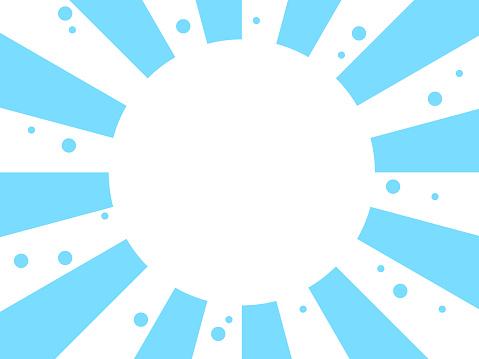 Light blue radial background
