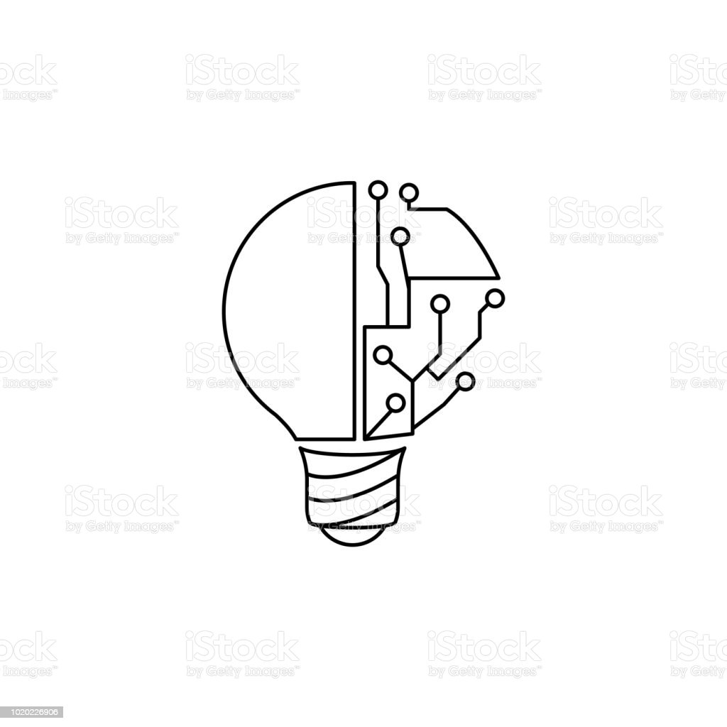 light bulb and circuit icon element of idea and solutions for mobile Parallel vs Series Circuits light bulb and circuit icon element of idea and solutions for mobile concept and web