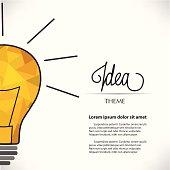 Light Bulb Creativity Theme