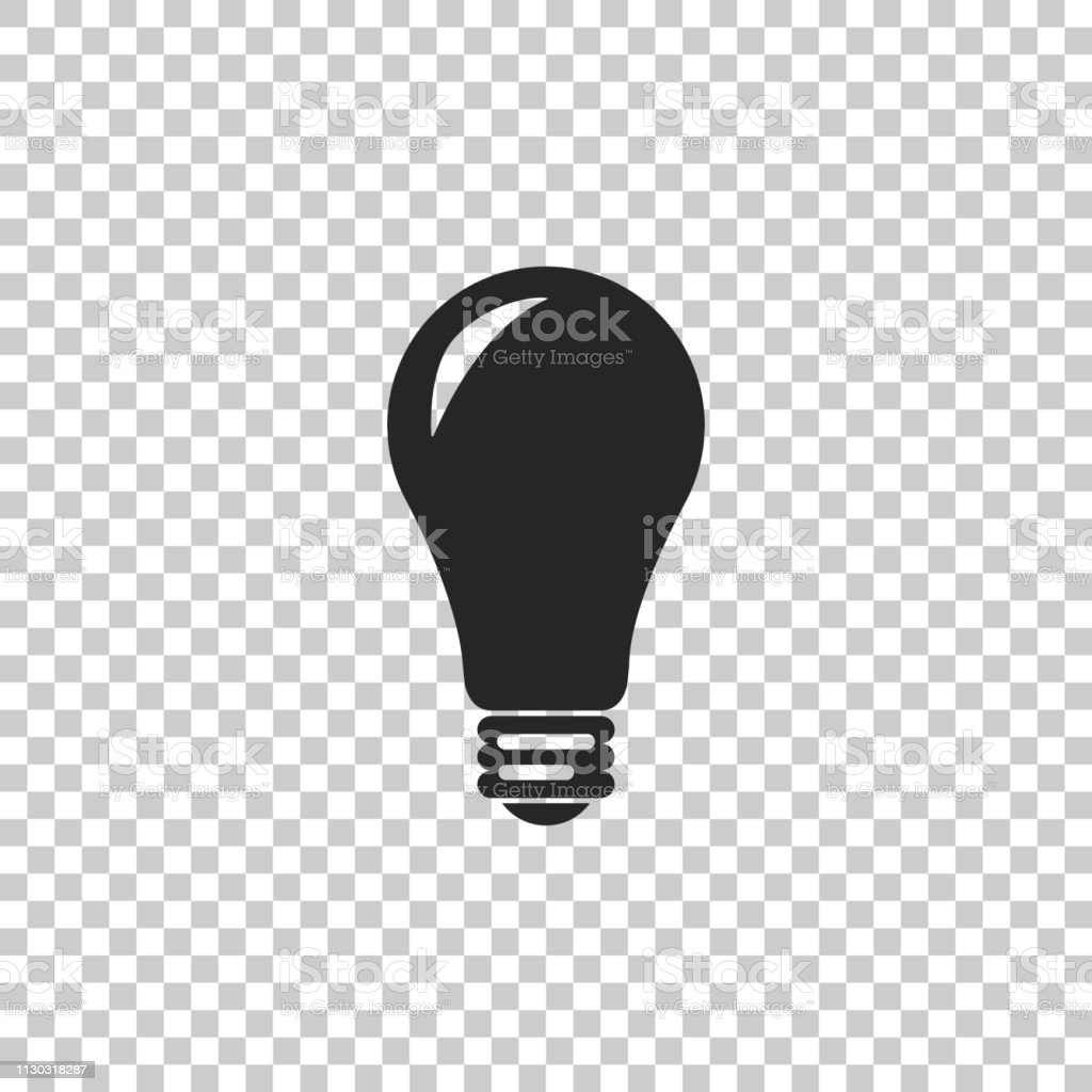 light bulb icon isolated on transparent background energy and idea symbol lamp electric flat design vector illustration stock illustration download image now istock light bulb icon isolated on transparent background energy and idea symbol lamp electric flat design vector illustration stock illustration download image now istock