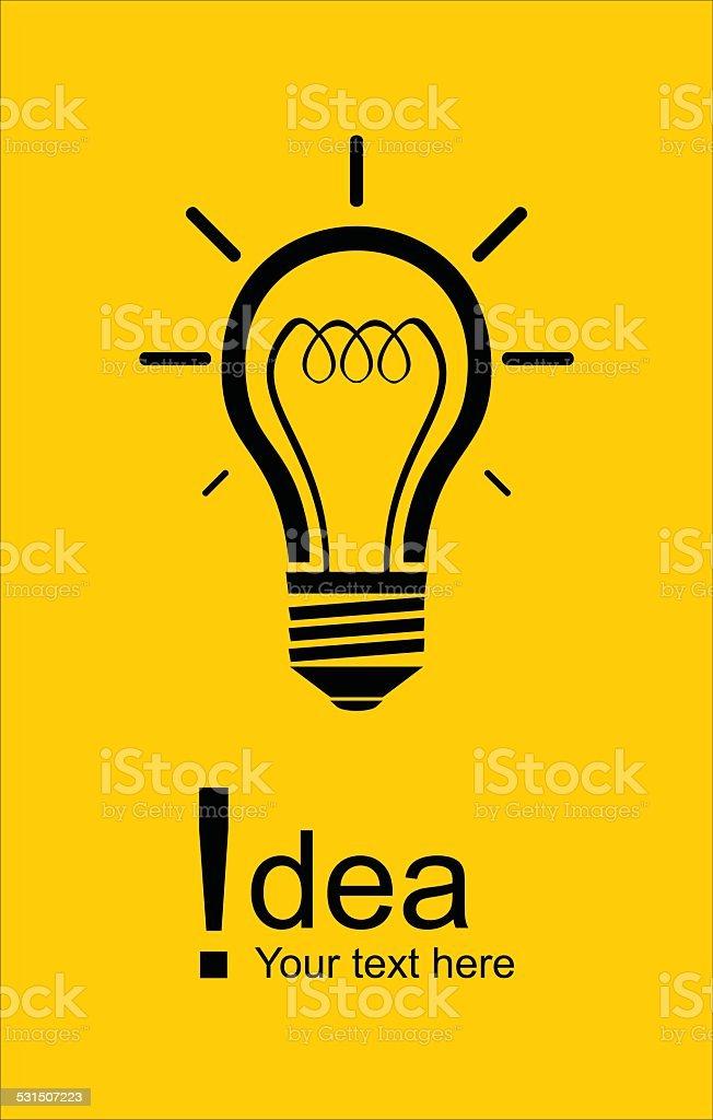 Glühbirne Symbol Stock Vektor Art und mehr Bilder von Ausrufezeichen ...