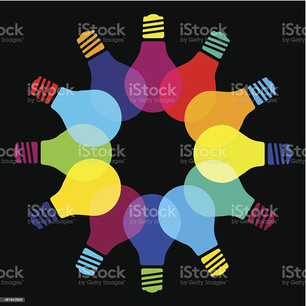 Light bulb idea concept royalty-free light bulb idea concept stock vector art & more images of abstract