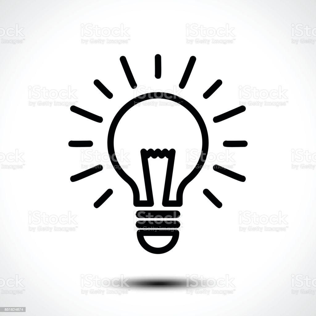 Glühbirne Idee Vektor Vorlage Corporate Symbol Z B Typ Stock Vektor ...