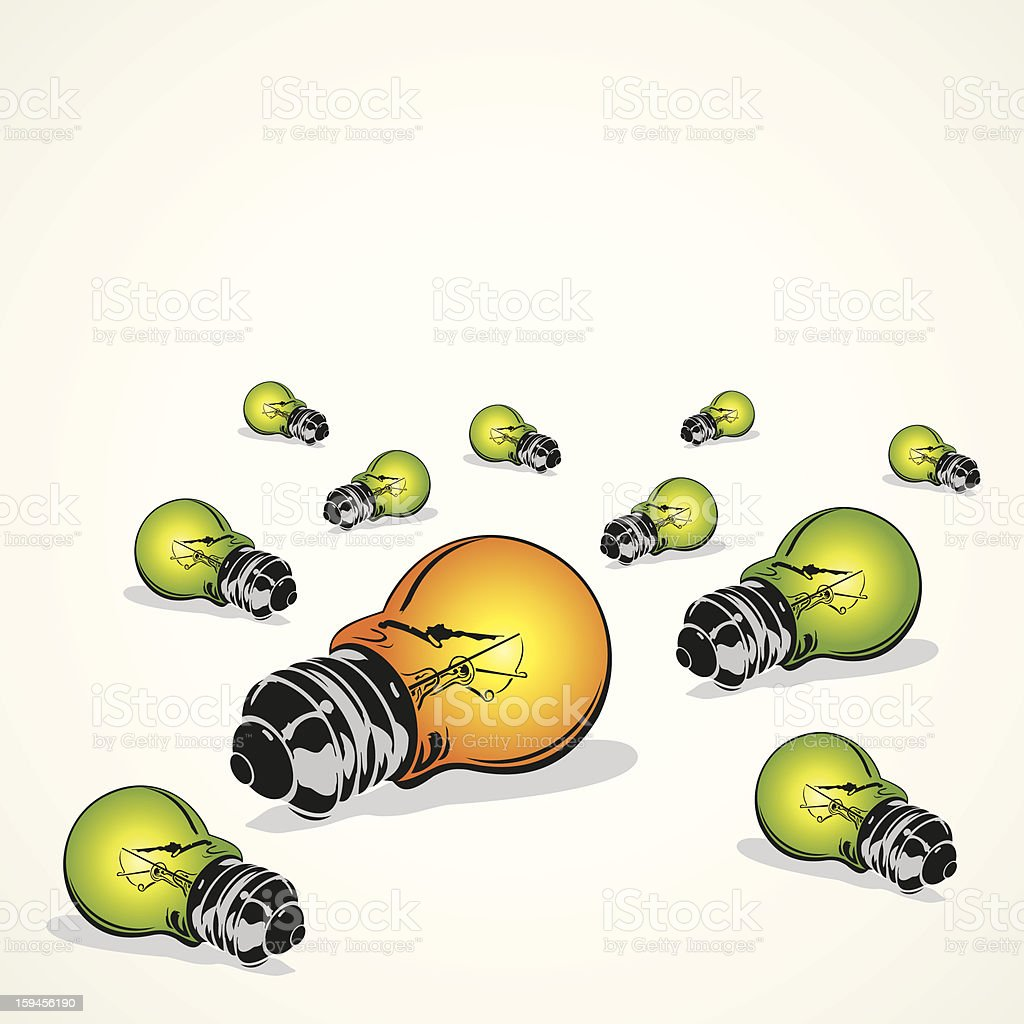 light bulb royalty-free light bulb stock vector art & more images of abstract