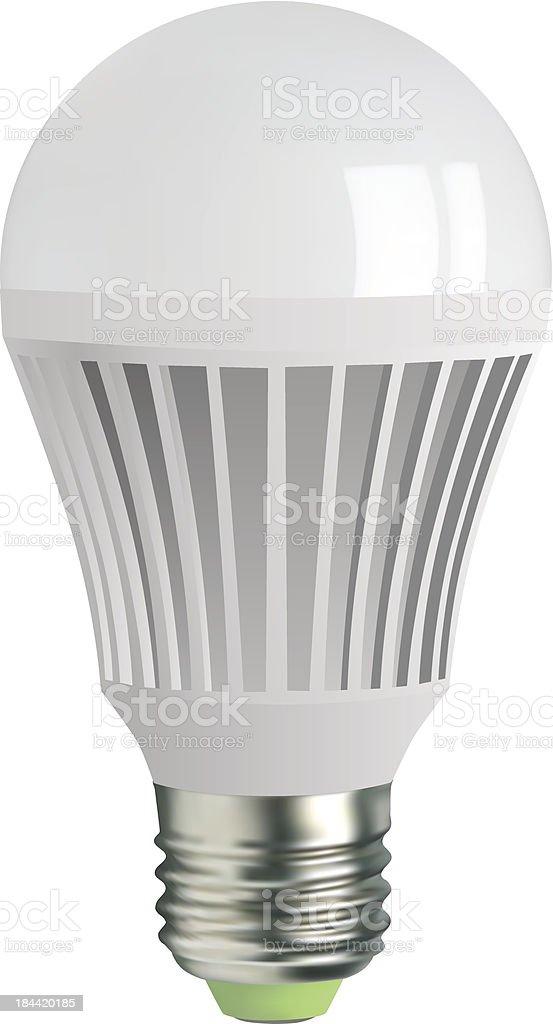 light bulb vector art illustration